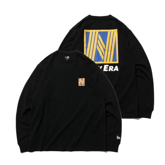 12542694 / NEW ERA / ニューエラ / 長袖 / コットン Tシャツ / ニューエラ ロゴシリーズ / レギュラーフィット/0109SALE