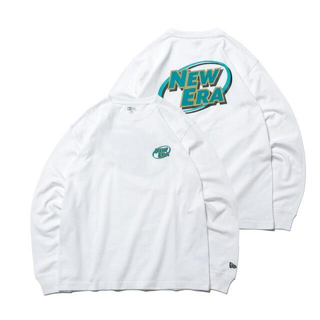 12542702 / NEW ERA / ニューエラ / 長袖 / コットン Tシャツ / ニューエラ ロゴシリーズ / レギュラーフィット/0109SALE