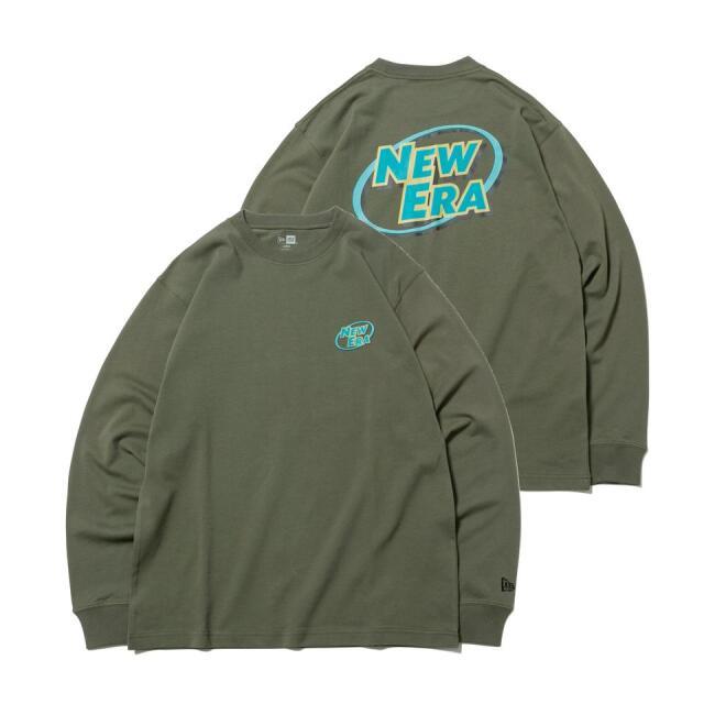 12542703 / NEW ERA / ニューエラ / 長袖 / コットン Tシャツ / ニューエラ ロゴシリーズ / レギュラーフィット