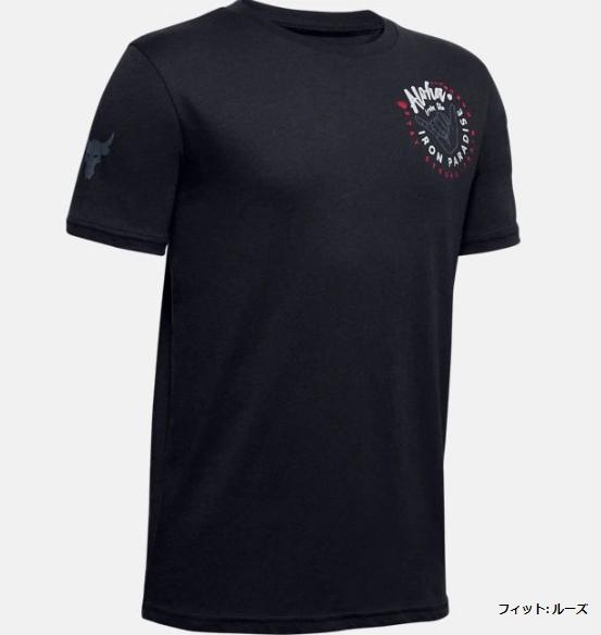 1351842 / 【2020春夏新作】 / UNDER ARMOUR / アンダーアーマー / UA PROJECT ROCK ショートスリーブ Tシャツ<IRON PARADISE>  / Tシャツ / KIDS / キッズ