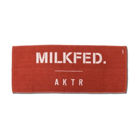 120-076021 / AKTR / MILKFED / スポーツタオル / アクター / ミルクフェド / バスケットボール /