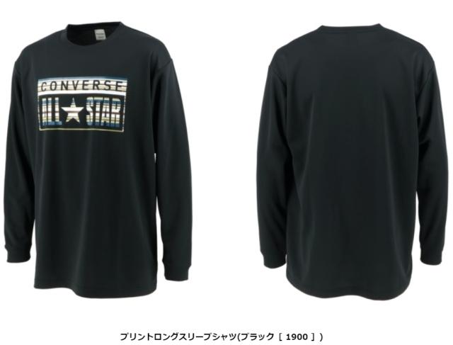 CB202357L / CONVERSE 【2020秋冬新作】 / コンバース / プリントロングスリーブシャツ / ロンT