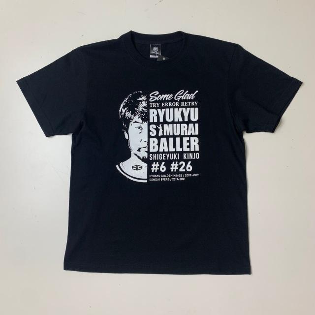 SGT-2101-コットンTシャツ /Some Glad  / サムグラッド / 金城茂之 引退記念Tシャツ