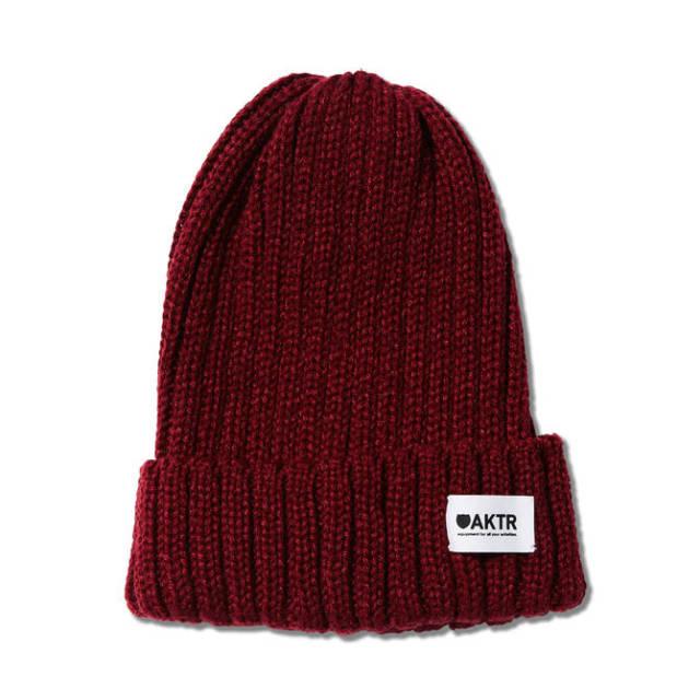 218-050021BASIC KNIT CAP-AKTR/ アクター / メンズ / バスケットボール / キャップ