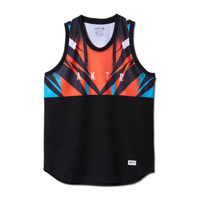 219-001001 / EXTREME TANK / BLACK / タンクトップ / AKTR / アクター / メンズ / バスケットボール