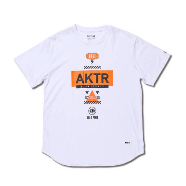 219-012005 /【2019春夏新作】 / EXTREME ICON TEE / Tシャツ / AKTR / アクター / メンズ / バスケットボール