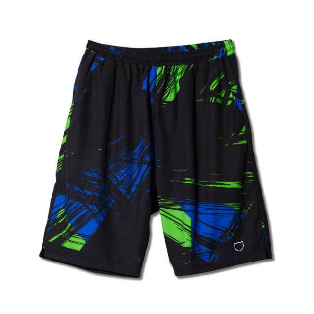 219-015002 / NEON SWAY SHORTS / BLACK / AKTR / アクター / メンズ / バスケットボール / ショーツ