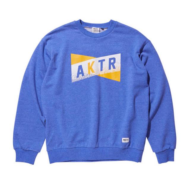219-058010 / SWEAT CREW NECK / クルーネックスウェット / AKTR / アクター / メンズ / バスケットボール