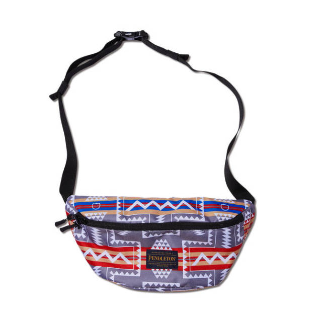219-065022 / AKTR / PENDLETON BODY BAG / GRAY / アクター / メンズ / バスケットボール / バッグ
