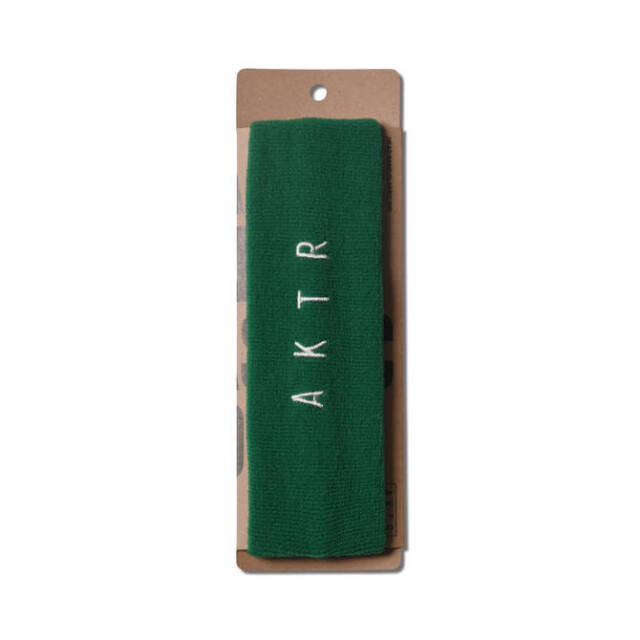 221-032021 / AKTR / アクター / ヘアバンド / HEAD BAND CLASSIC MID  / グリーン