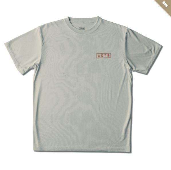 221-066005lgy / AKTR / COOL SPORTS / CHOOSE YOURSELF / アクター / Tシャツ / L-GRAY / ライトグレー