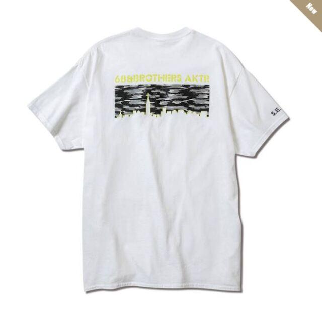221-0910005wh / 68xAKTR CITY CAMO TEE WHITE / アクター / Tシャツ / ホワイト