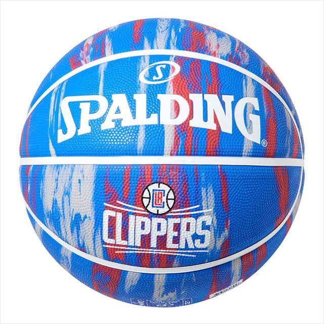 SPALDING / クリッパーズマーブルラバー 7号球 84-135Z