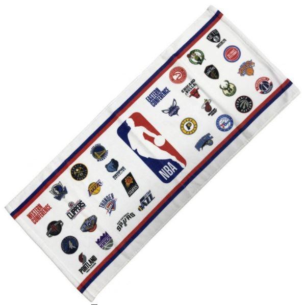 NBA34229 / NBA / ALL ホワイト / フェイスタオル / バスケットボール / タオル