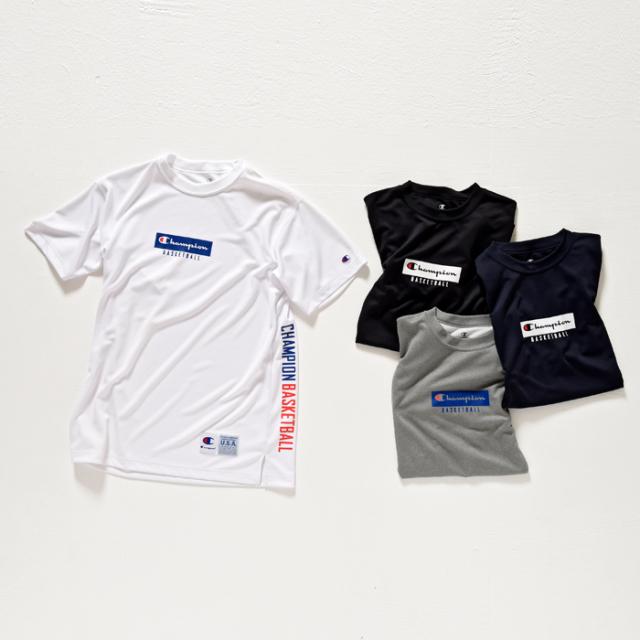 C3-LB358 / Champion / CAGERS / チャンピオン / DRYSAVER Tシャツ / 17FW / バスケットボール / Tシャツ