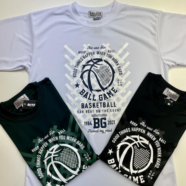 BGT-2104 /【2021春夏新作】 / BALL GAME / 当店限定商品 / BALL LINE(ボールライン)×STEP BY STEP / Tシャツ