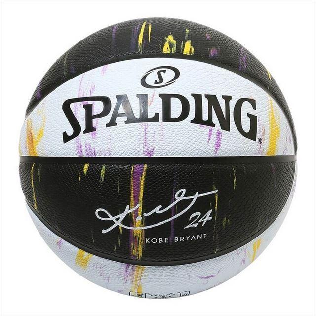 SPALDING / コービーブライアント オルタネイトパネルマーブル ラバー 7号球 84-131Z