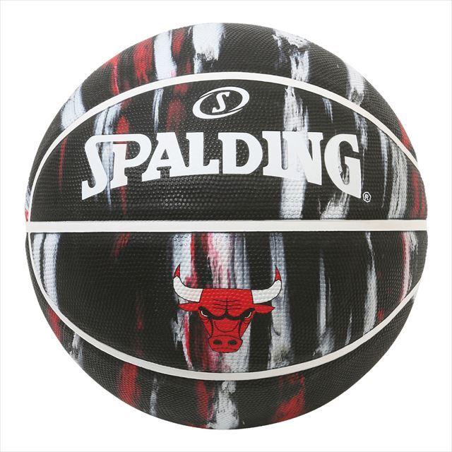 SPALDING / ブルズ マーブル ラバー 7号球 84-201J