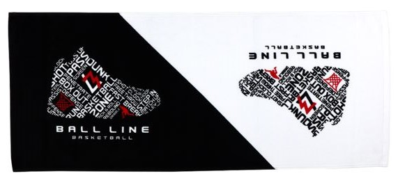 TWL-408 / BALL LINE / TOWEL / タオル / スポーツタオル / ボールライン