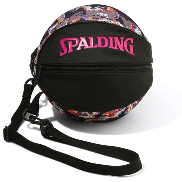 49-001TF/ SPALDING / ボールバッグ トゥイーティー フラワー/バッグ/ バスケットボール / スポルディング