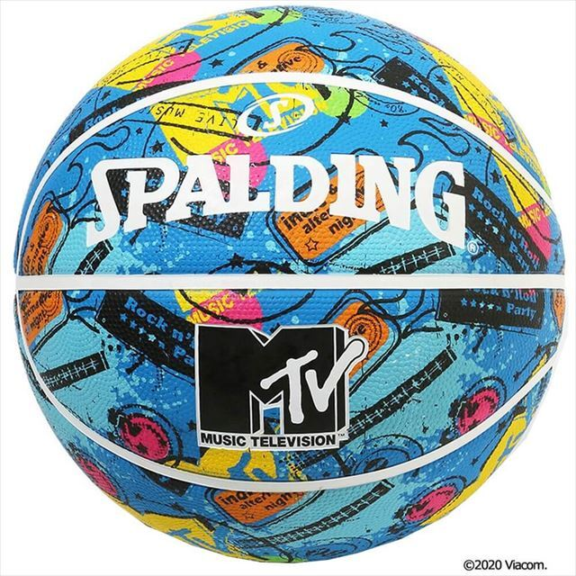 SPALDING / MTV ギター ラバー 5号球 84-065J