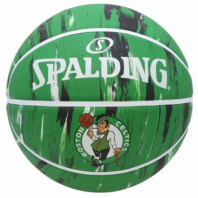 83-926J/ SPALDING / セルティックス マーブル ラバー 5号球/ バスケットボール / スポルディング