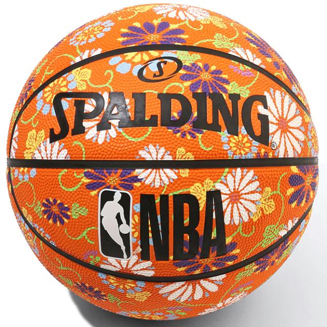 84-061J / SPALDING /キク ラバー 6号球 NBAロゴ入り / バスケットボール / スポルディング