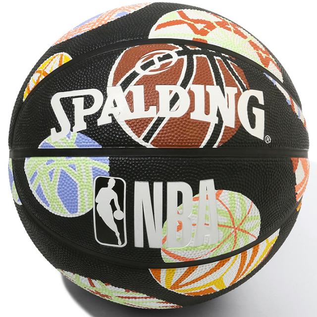 84-063J/ SPALDING /マリ ラバー 6号球 NBAロゴ入り / バスケットボール / スポルディング