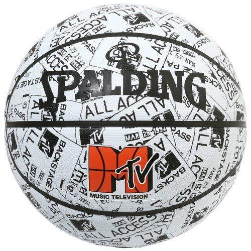 84-067J/ SPALDING /MTV イベントパス ラバー 5号球/ バスケットボール / スポルディング