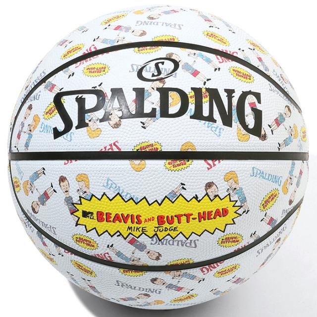 84-068J / SPALDING / ビーバス アンド バットヘッド ラバー 7号球/ バスケットボール / スポルディング
