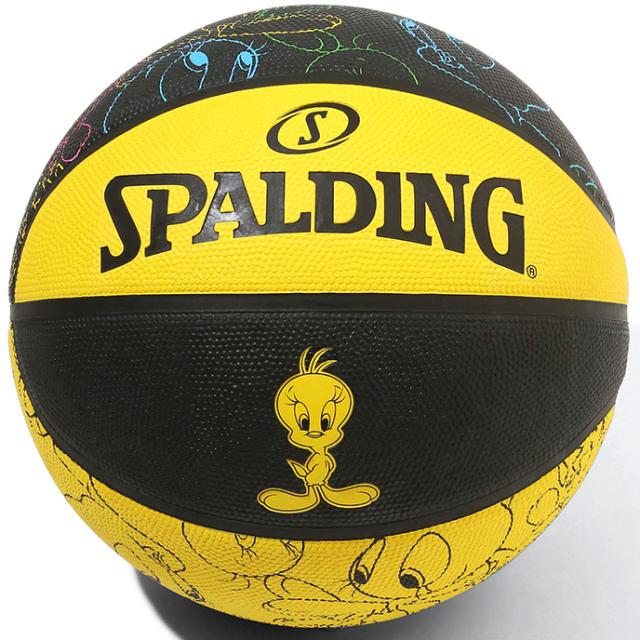 84-073J / SPALDING /トゥイーティー ラバー 5号球  / バスケットボール / スポルディング