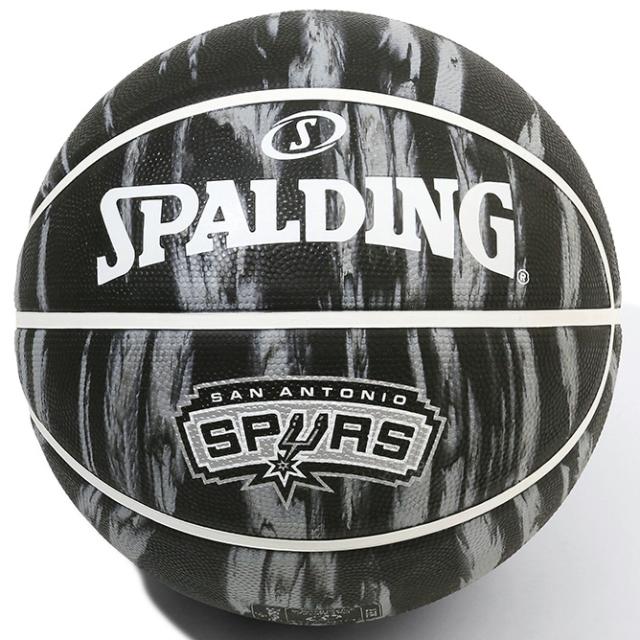 84-099J/ SPALDING /スパーズ マーブル ラバー 7号球/ バスケットボール / スポルディング