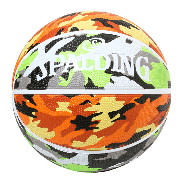 84-501J / マルチカモ グリーン×オレンジ 7号 SPALDING