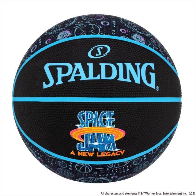 84-597Z スペース・ジャム テューン・スクワッドクルー 5号 SPALDING