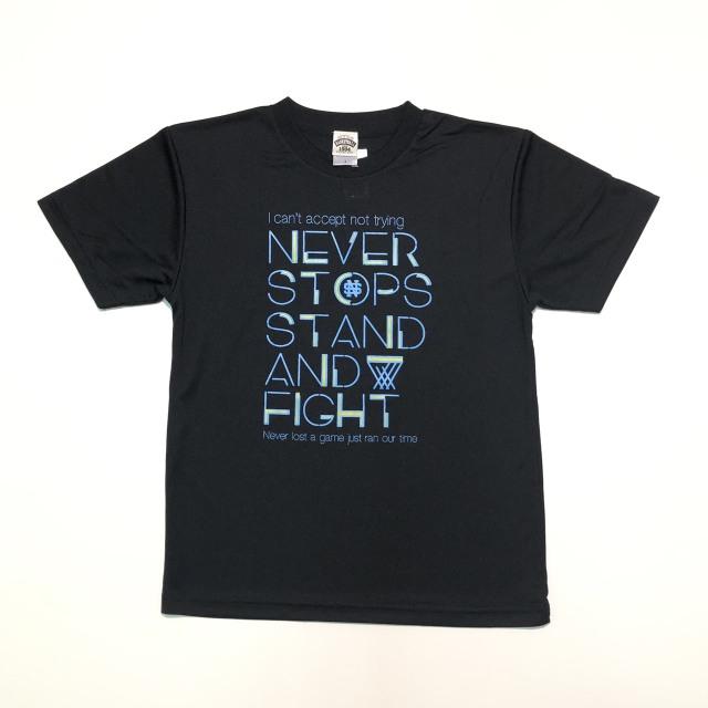 NST904 / 【2019春夏新作】 / NEVER STOPS / ネバーストップス / STEP BY  STEP オリジナル / Tシャツ / プラクティスシャツ