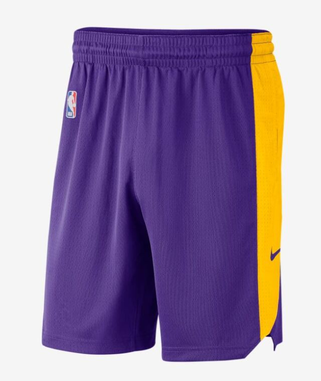 AJ5078-504 / NIKE / NBA/ナイキ / バスケットボール / ショートパンツ/レイカーズ