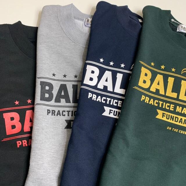 BLSS-1373 /【2021秋冬新作】 / BALL LINE  / BASIC SEWAT SHIRT / ボールライン / スウェットシャツ