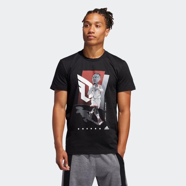 GUS85 / FM4775 / adidas デイミアンリラード Tシャツ