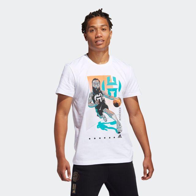 GUS81 / adidas ジェイムスハーデン Tシャツ