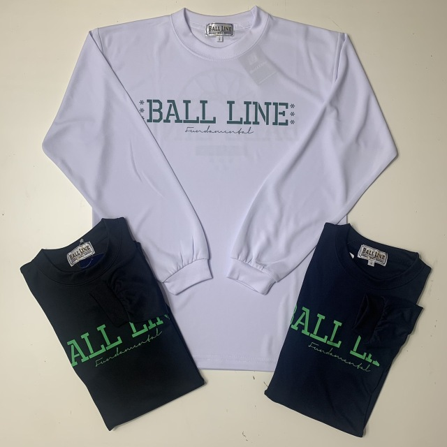 BT-6355 /【2021秋冬新作】 / BALL LINE  / BASIC  LONG SLEEVE SHIRT / ボールライン / ロングスリーブシャツ