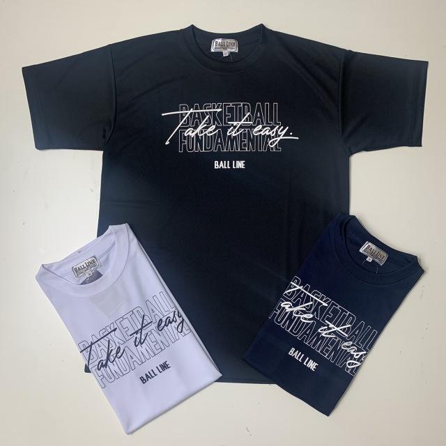 BT-1354 / 【2021秋冬新作】 BALL LINE / BASIC T SHIRT / Tシャツ / ボールライン / 半袖
