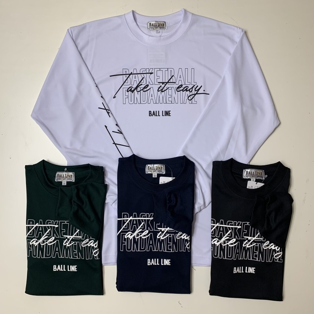 FHT812 / FLYING HIGH / フライングハイ / STEP BY STEP オリジナル / BALL LINE(ボールライン)×STEP BY STEP / Tシャツ / バスケットボール