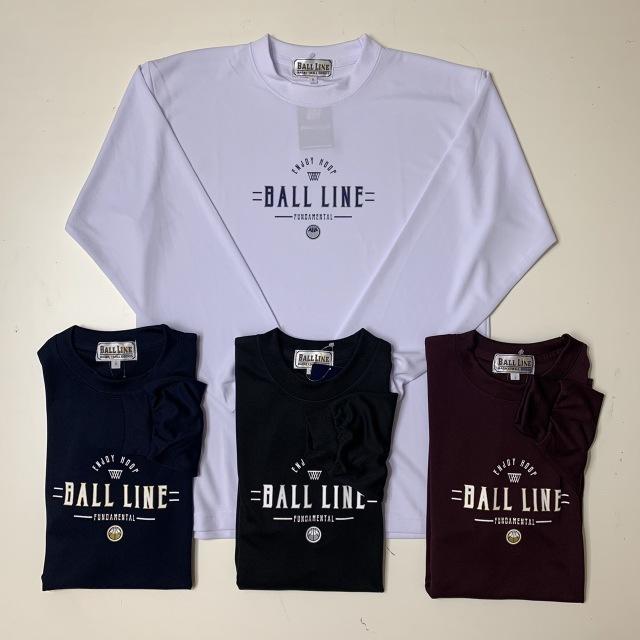 BT-6353 /【2021秋冬新作】 / BALL LINE  / BASIC  LONG SLEEVE SHIRT / ボールライン / ロングスリーブシャツ