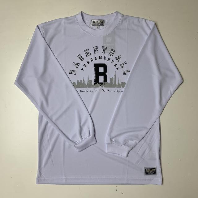 HPT801 / BALL LINE(ボールライン)×STEP BY STEP / 当店限定コラボ商品 / HOOP PARADISE / Tシャツ / バスケットボール