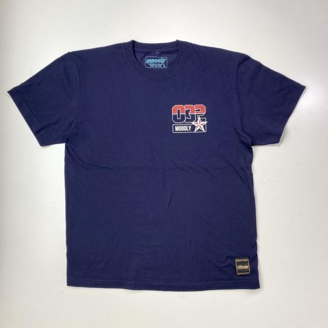 MLYTS-2005-NVY/ Moooly / モーリー / 山内 盛久 / Tシャツ