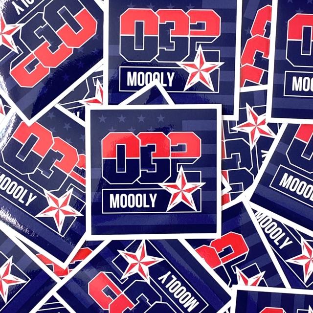 MLYSTICKER-032/ Moooly / モーリー / 山内 盛久 / ステッカー