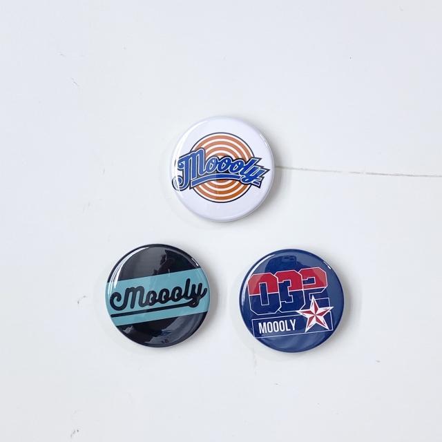 MLYBATCH/ Moooly / モーリー / 山内 盛久 / 缶バッチ