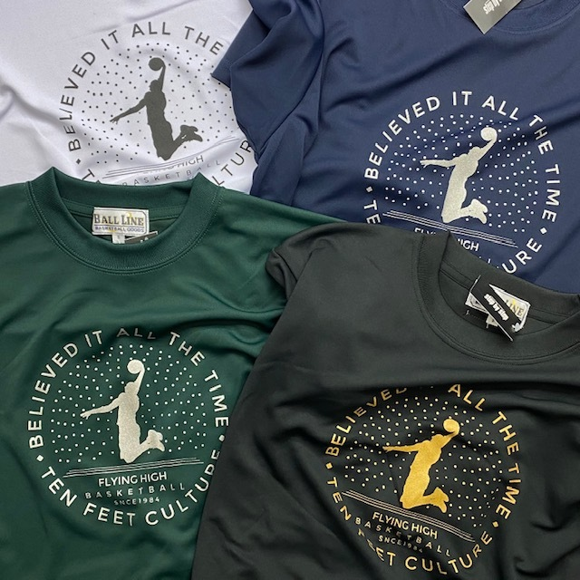 FHT-2101 /【2021春夏新作】 / FLYING HIGH / フライングハイ / 当店限定商品 / BALL LINE(ボールライン)×STEP BY STEP / Tシャツ / Night view