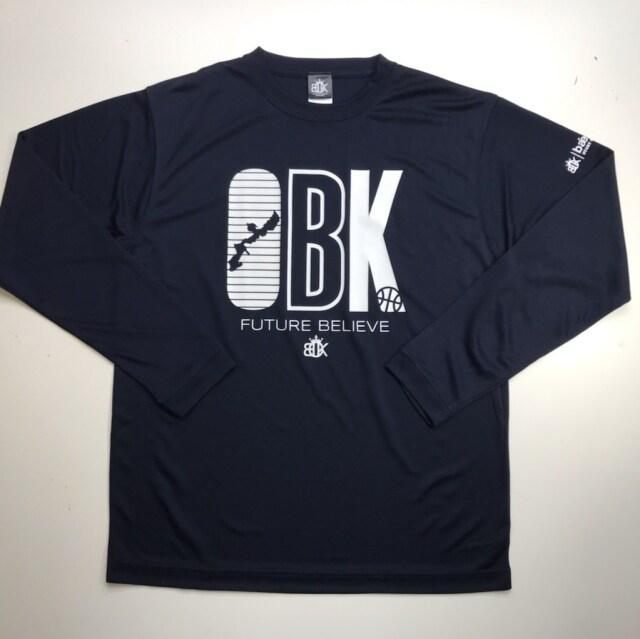 OBKLS-2002 / OKINAWA BASKETBALL KINGDOM / ロンT / オキナワバスケットボールキングダム / ロングスリーブシャツ/ オリジナル
