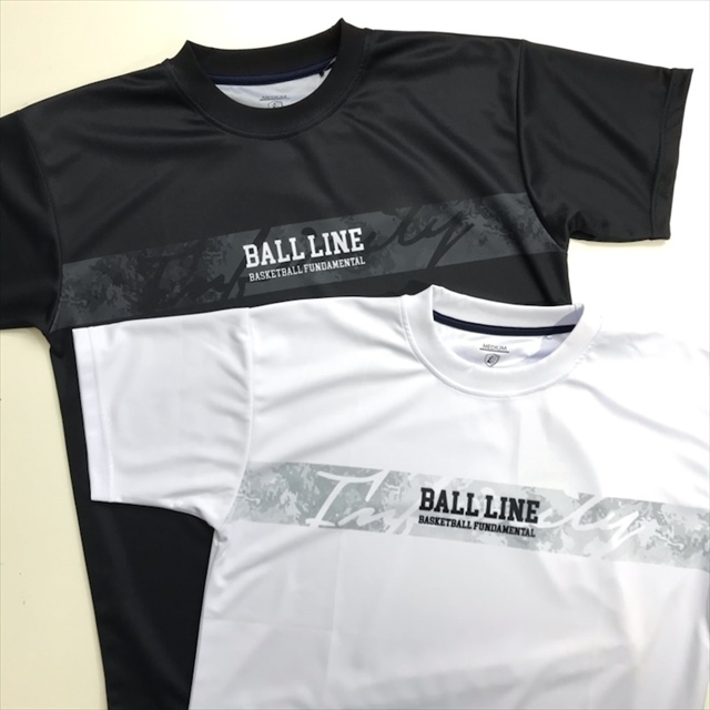 NBT-1314 / 【2021春新作】 BALL LINE / 昇華Tシャツ / ボールライン / 半袖 / スリムフィット / INFINITY(無限の可能性)